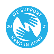 We support Hand In Hand